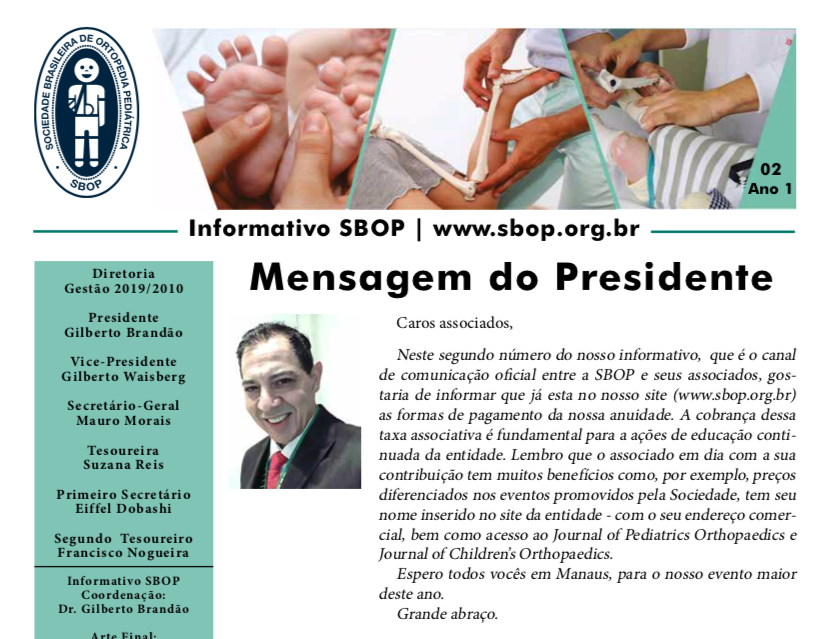 Informativo SBOP - 02