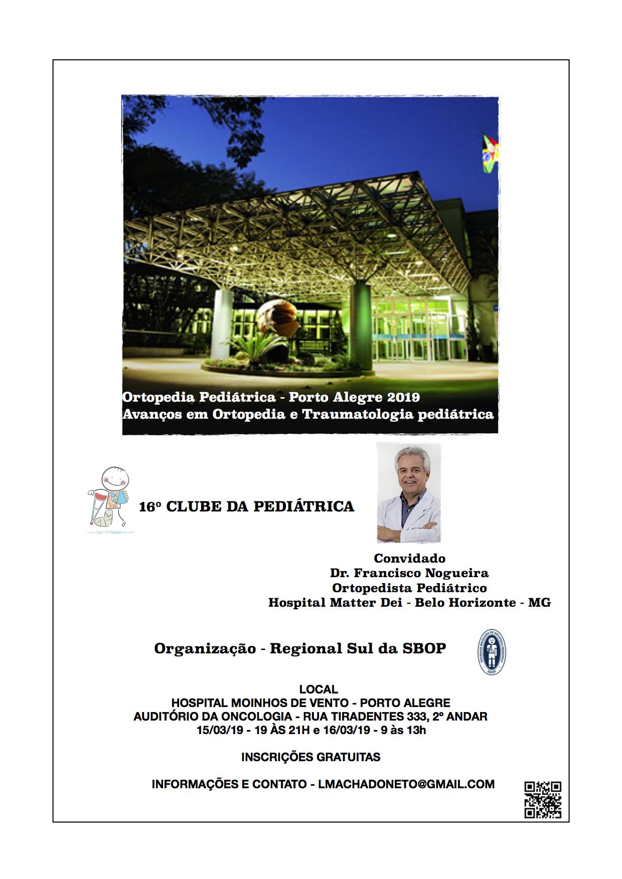 16º Clube da Pediátrica SBOP