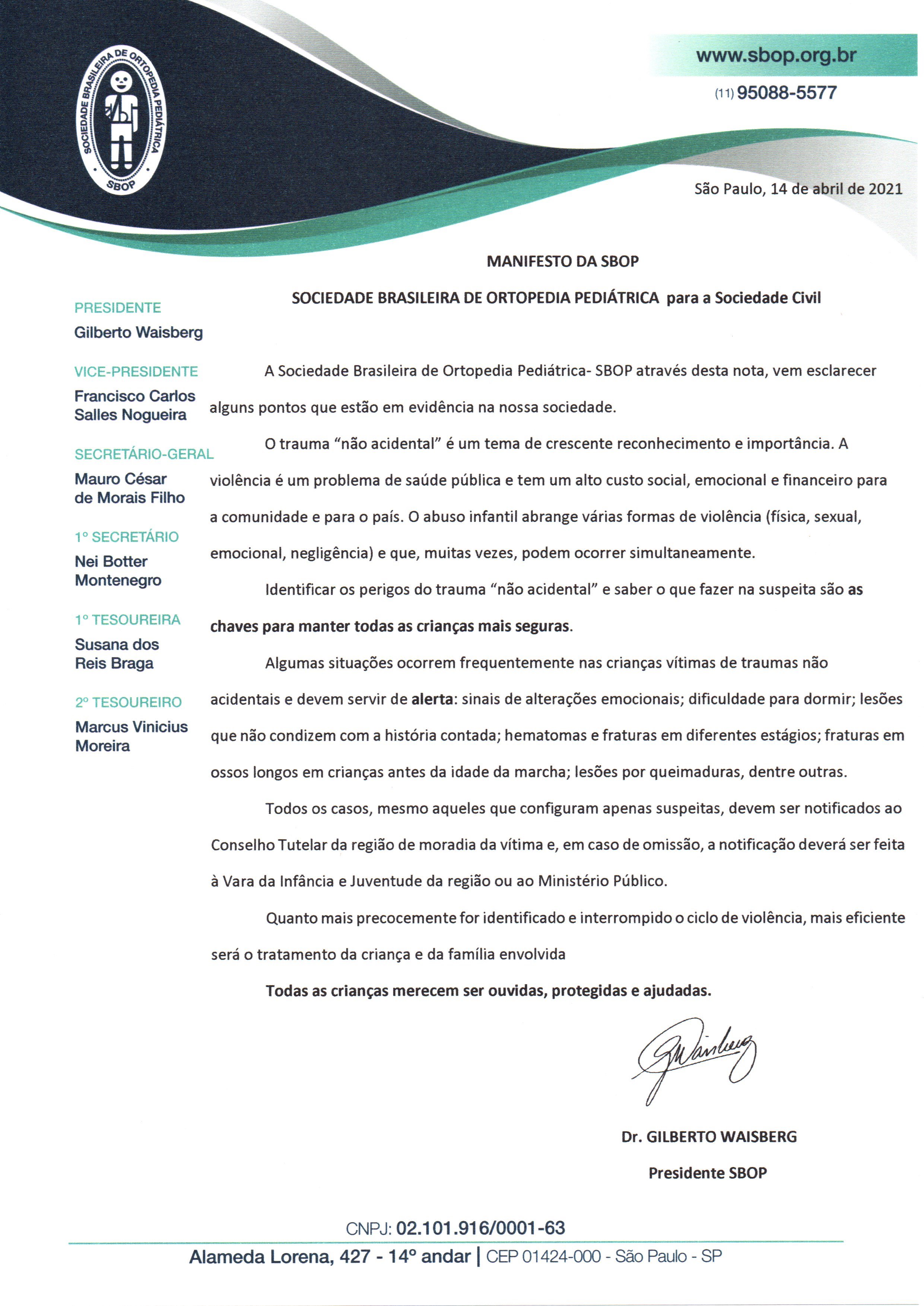 Manifesto SBOP
