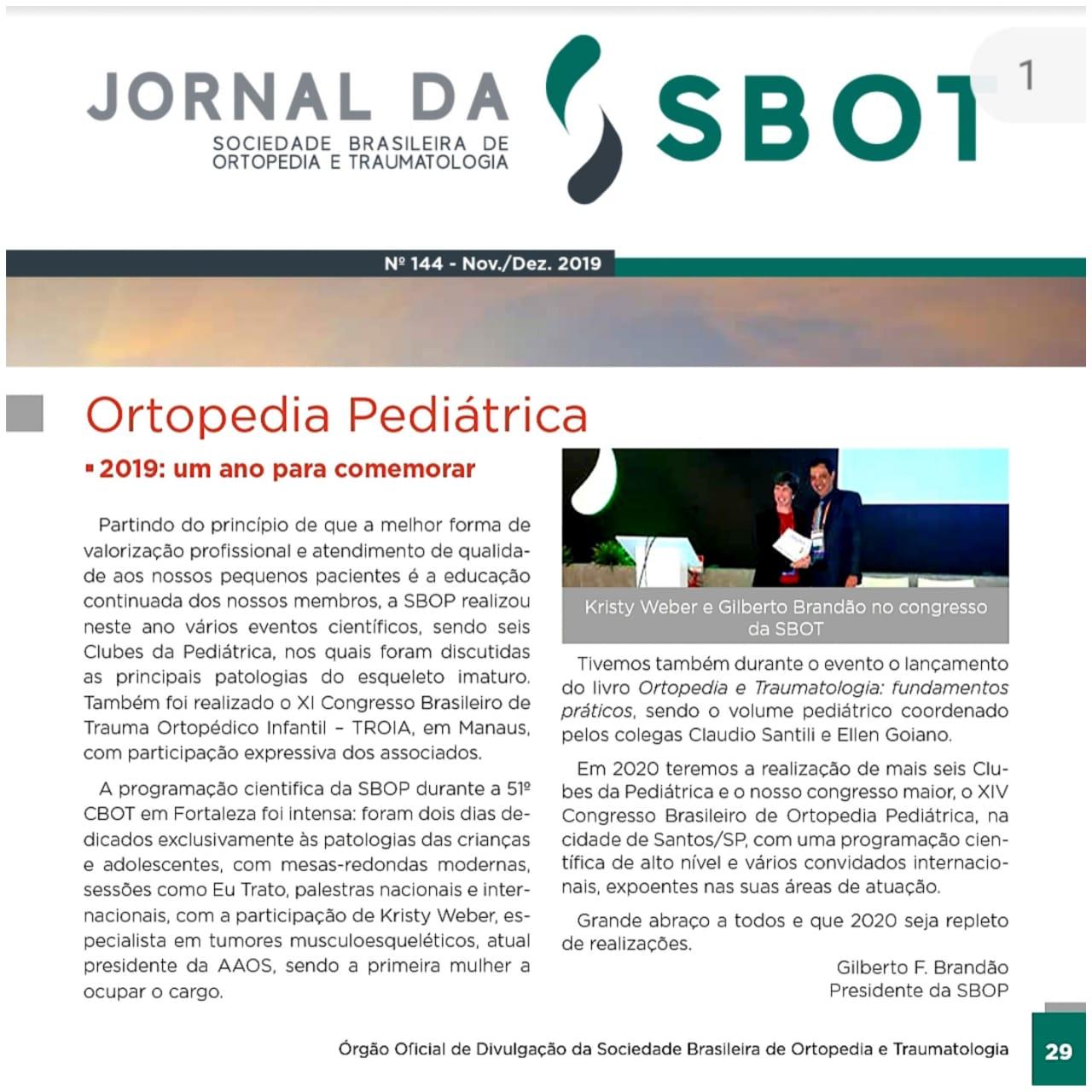 Jornal da SBOT